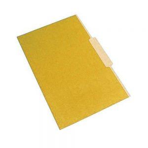 carpeta interna amarilla