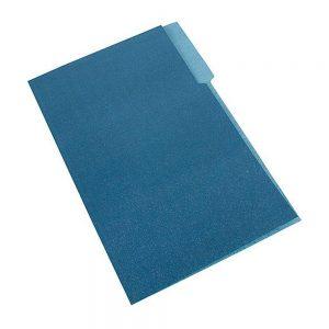 carpeta interna azul