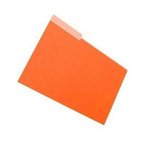 carpeta interna naranja