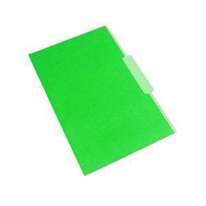 carpeta interna verde