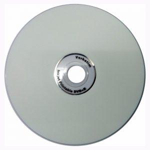 cd grabable blanco verbatim