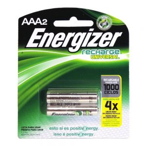 pila energizer recargable aaa x 2