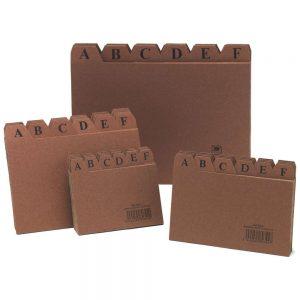 indice para fichero n3 carton