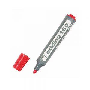 marcador edding 160 rojo