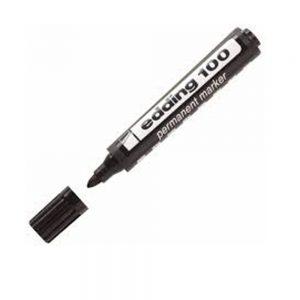 marcador edding 100 negro