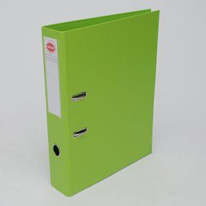 bibliorato forrado uo lomo 75cm oficio verde manzana