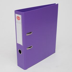 bibliorato forrado uo lomo 75cm a4 violeta