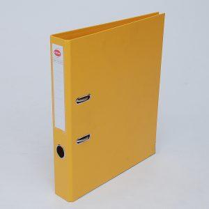 bibliorato forrado uo lomo 50cm oficio amarillo