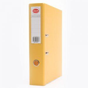 bibliorato forrado uo lomo 75cm oficio amarillo