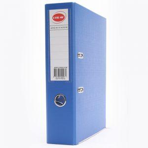 bibliorato forrado uo lomo 75cm a4 azul