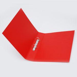 carpeta forrada oficio 2x40 uo rojo