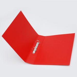 carpeta forrada a4 2x40 uo rojo