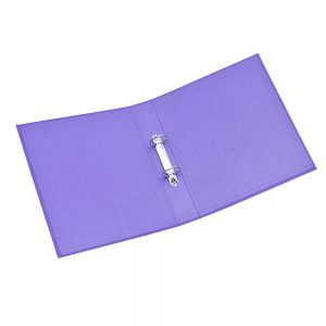 carpeta forrada a4 2x40 uo violeta