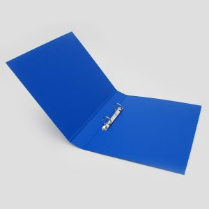 carpeta forrada a4 2x25 azul uo