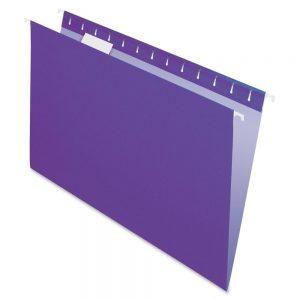 Carpeta Colgante Cartulina Nepaco X 25 Unidades Violeta
