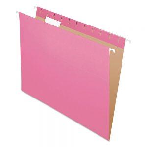 Carpeta Colgante Cartulina Nepaco X 25 Unidades rosa