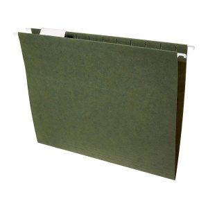 Carpeta Colgante Cartulina Nepaco X 25 Unidades Verde noche