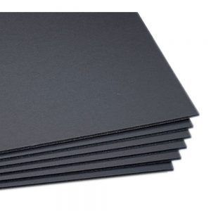 Carton Foam board 50x70 Cm Negro