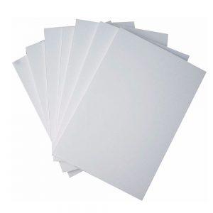 Carton Foam board 70X100 Cm 5Mm blanco