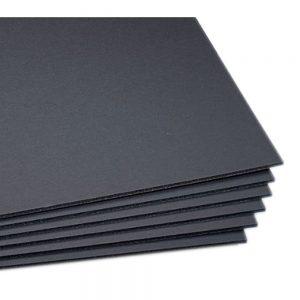 Carton Foam board 70X100 Cm 5Mm Negro