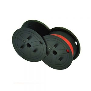 cinta para maquina de calcular cifra roja-negra