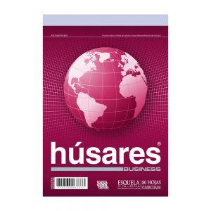 block husares a6 cuadriculado