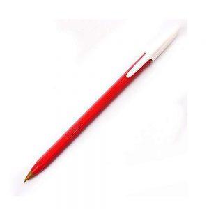boligrafo bic opaco rojo 1.0