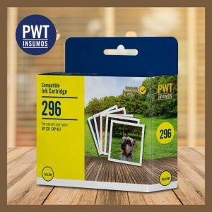 cartucho alternativo epson pwt 296 amarillo