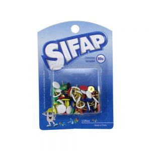 chinches forrados sifap blister 80 unidades