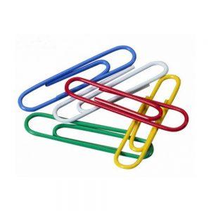clips sifap nº6 forrados caja colores surtidos 50 unidades