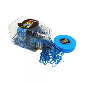 clips mooving 50mm frasco azul fluo
