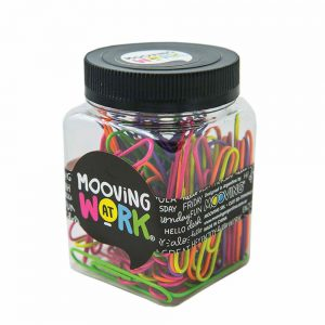 clips mooving 50mm frasco multicolor neon