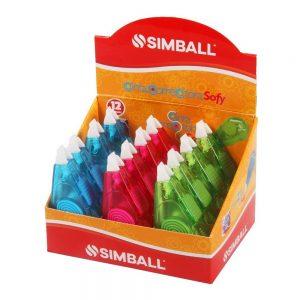 corrector cinta simball sofy 5mm x 4 mts