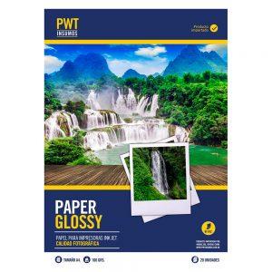 papel fotografico bifaz brillante 160 grs x 20 unid