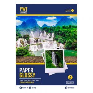 papel fotografico bifaz brillante 220 grs x 20 unid