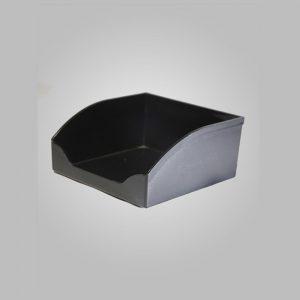 porta taco acrilico negro