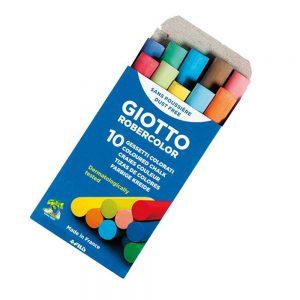 tizas giotto color x 10 unidades