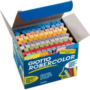 tizas giotto color por 100 unidades