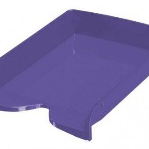 bandeja papelera pizzini 1 piso violeta