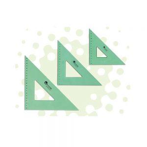 escuadra pizzini estudio acrilico verde 35x45
