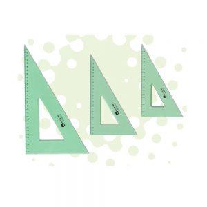 escuadra pizini estudio 35x60 acrilico verde
